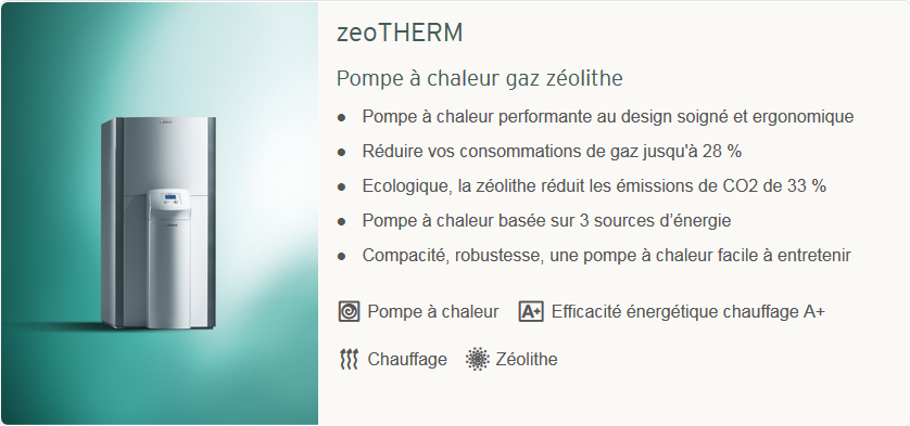 chaudiere solaire zeotherm